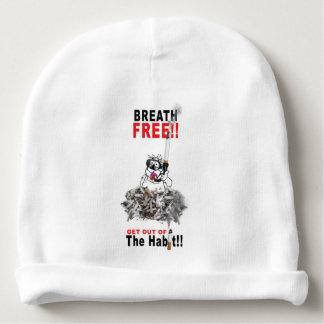 Breathe Free - STOP SMOKING Baby Beanie