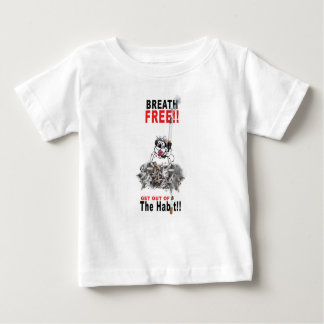 Breathe Free - STOP SMOKING Baby T-Shirt