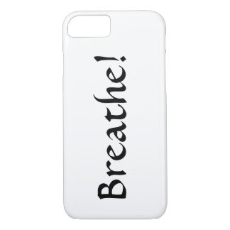 """""""Breathe!"""" iphone cover"""
