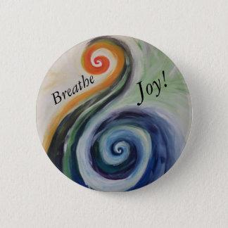 Breathe Joy! 2 Inch Round Button