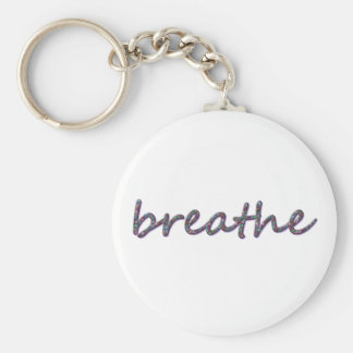Breathe Keychain