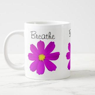 Breathe Large Coffee Mug
