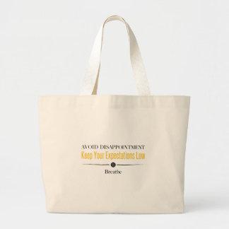 Breathe Large Tote Bag