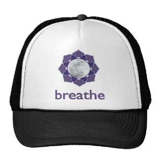 breathe :: mindful moon app logo - Trucker Hat