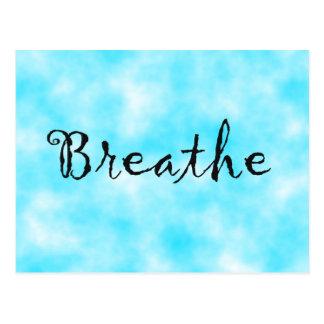 Breathe-postcard Postcard