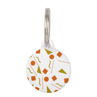 Breathing / Round Small Pet Tag