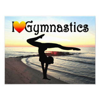 BREATHTAKING GYMNASTICS DESIGN PHOTO PRINT