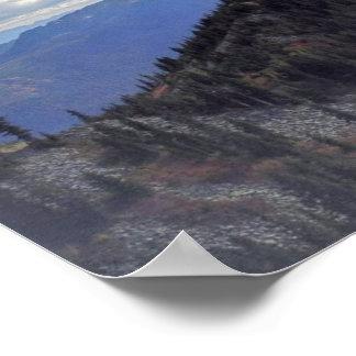 Breathtaking Panorami From Granite Mountain Poster