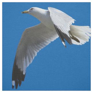 Breathtaking Ring-Billed Gull in Flight Fabric