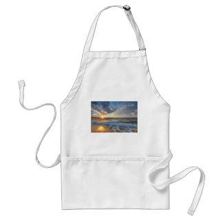 Breathtaking sunset standard apron