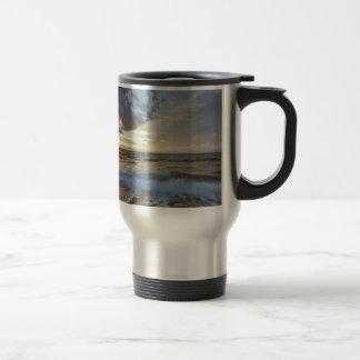 Breathtaking sunset travel mug
