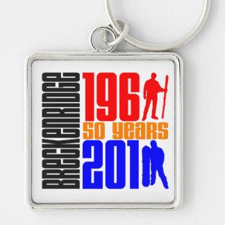 Breckenridge 50th Anniversary 3 Color Keychain