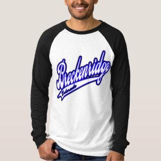 Breckenridge Baseball Jersey T-Shirt