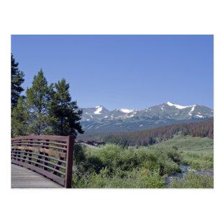 Breckenridge Bike Bridge Postcard