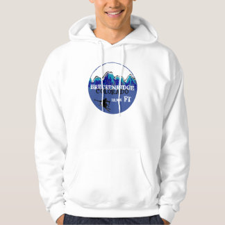 Breckenridge Colorado blue ski colorful hoodie