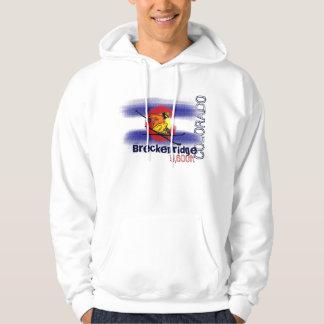 Breckenridge Colorado elevation ski hoodie
