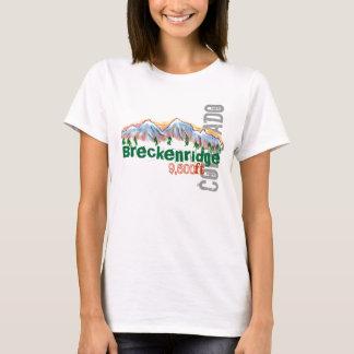Breckenridge Colorado elevation tee