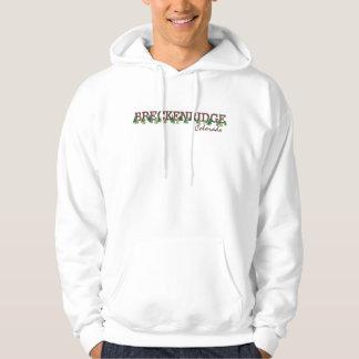 Breckenridge Colorado guys tree line hoodie