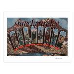 Breckenridge, Colorado - Large Letter Scenes Post Cards