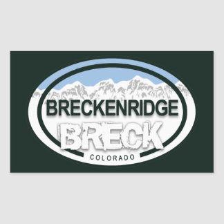 Breckenridge Colorado Rocky Mountain Breck Sticker