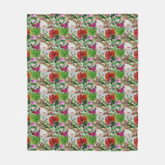 Breckenridge Flowers Fleece Blanket