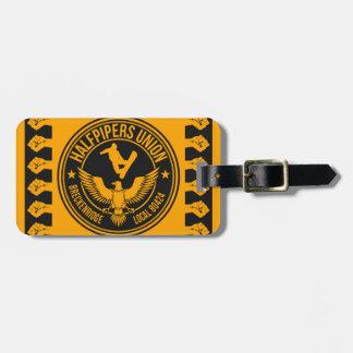 Breckenridge Halfpipers Union Gold Luggage Tag