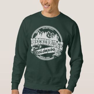 Breckenridge Old Circle White Sweatshirt