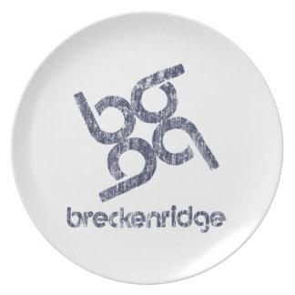 Breckenridge Plate