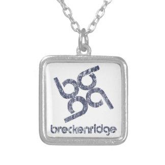 Breckenridge Silver Plated Necklace