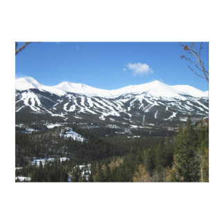 Breckenridge Ski Slopes Canvas
