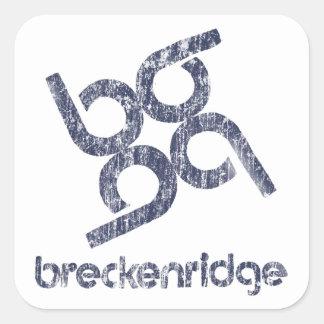 Breckenridge Square Sticker