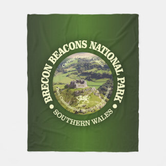 Brecon Beacons National Park (Carreg Cennen) Fleece Blanket