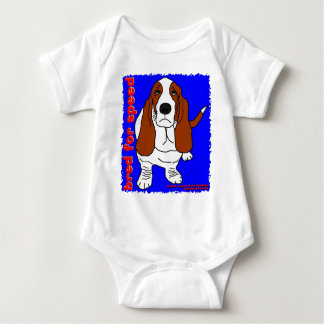 Bred for speed baby baby bodysuit