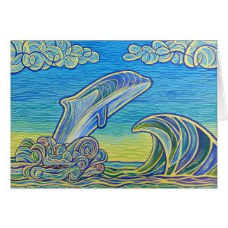 Breeching Orca Card