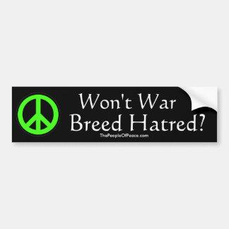 Breeding Hatred Bumper Sticker