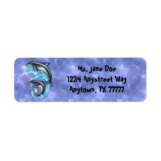 Breeze & Brine Return Address Label