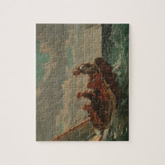 Breezing Up (A Fair Wind) by Winslow Homer Jigsaw Puzzle