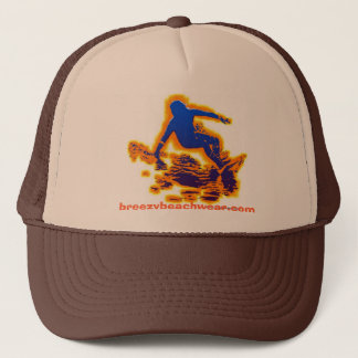 Breezy Beach Wear Surf Rider Trucker Hat