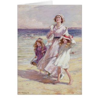 Breezy Day at the Seaside, Card