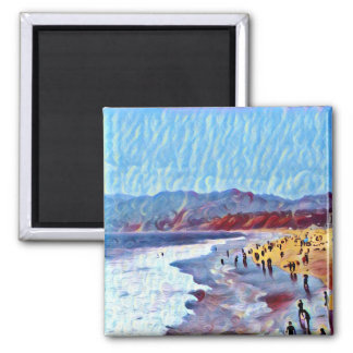 Breezy Dreamy Beach (magnet) Magnet