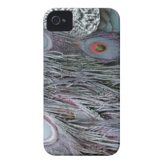 breezy peacock feathers Case-Mate iPhone 4 cases