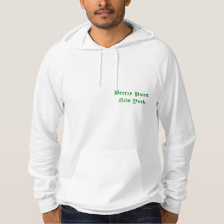 Breezy Point New York  St. Patrick's day Hoodie