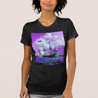 Breezy, Ships, Ocean, Sea, Waves T-Shirt