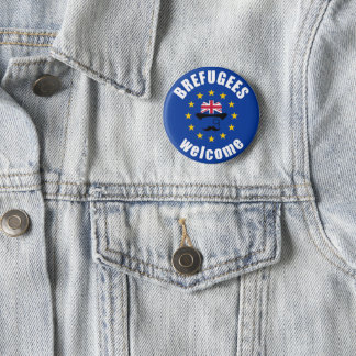 Brefugees Welcome 2 Inch Round Button