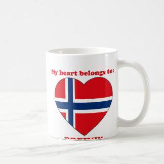 Breivik Classic White Coffee Mug