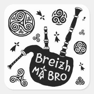 Breizh ma Bro Square Sticker
