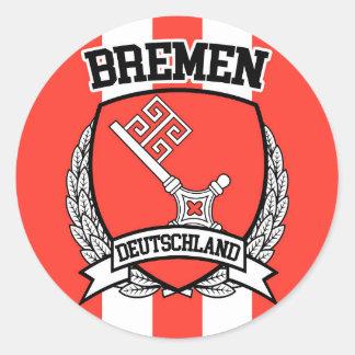 Bremen Classic Round Sticker