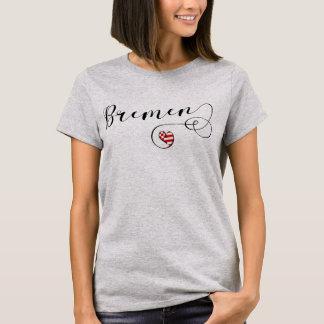 Bremen Heart Tee Shirt, Germany