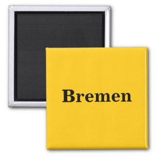 Bremen sign gold - Gleb - magnet