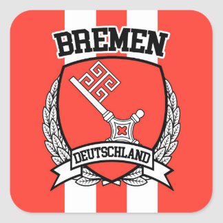 Bremen Square Sticker
